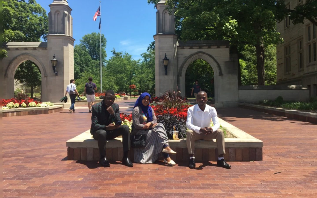 Afrisnet Education Committee Offers Professional Training to Kenyan Interns at Indiana University Bloomington